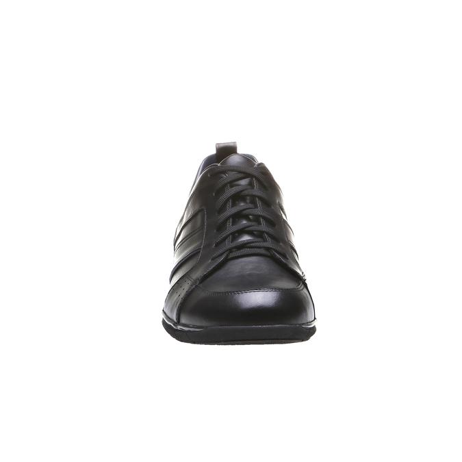 Kožené tenisky bata, černá, 824-6351 - 16