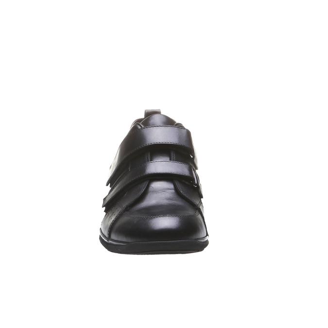Kožené tenisky bata, černá, 814-6344 - 16