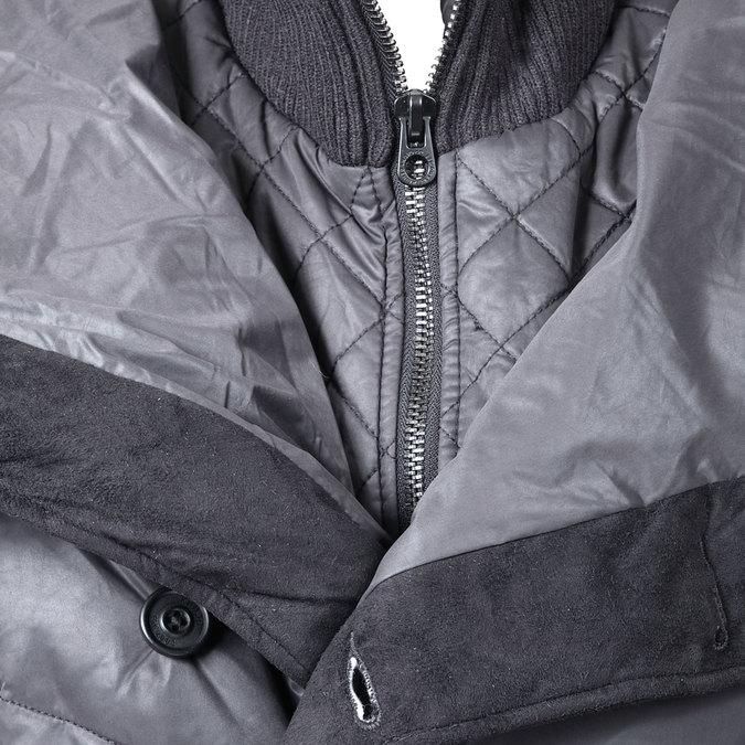 Dámská zimní bunda s páskem khujo, šedá, 979-2013 - 16