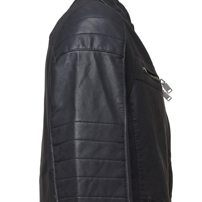 Pánská bunda bata, černá, 971-6167 - 16