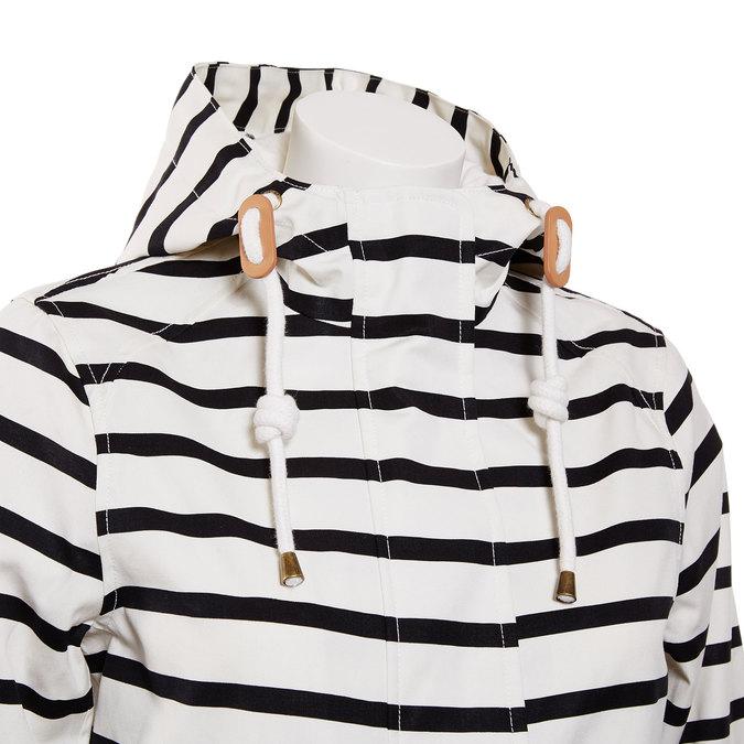 Pruhovaná dámská bunda joules, bílá, 979-6033 - 16