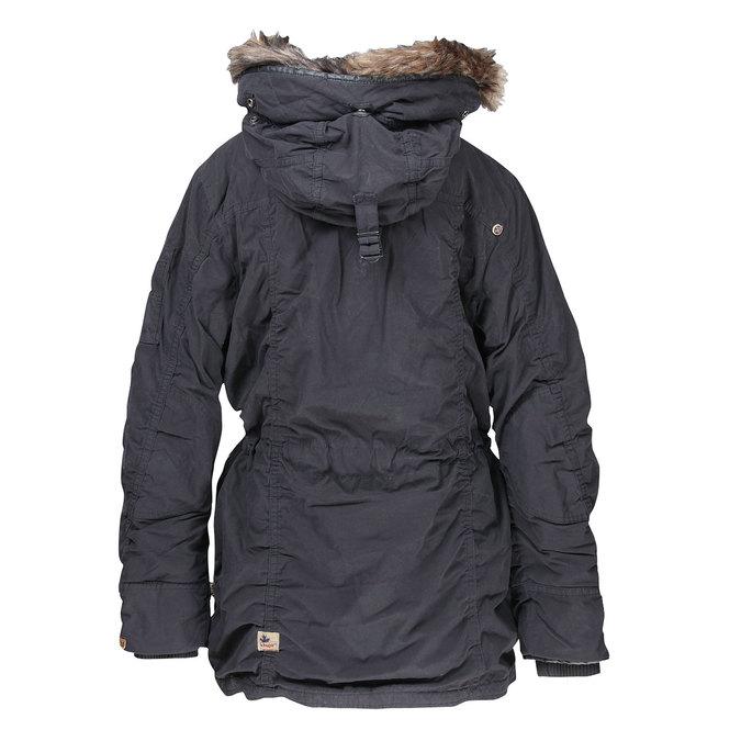 Pánská zimní bunda s kapucí khujo, černá, 979-6038 - 26