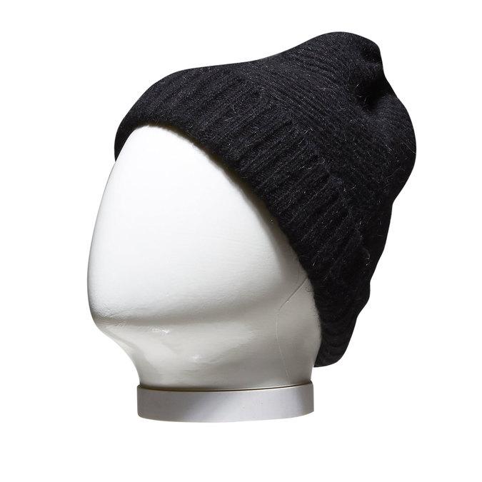 Dámská čepice bata, černá, 909-6395 - 13