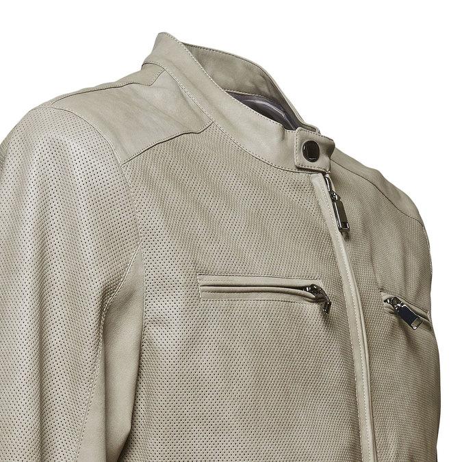 Pánská bunda bata, šedá, 971-2110 - 16