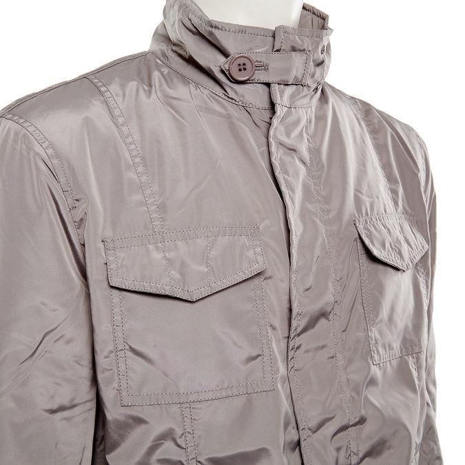 Pánská bunda bata, šedá, 979-2564 - 16