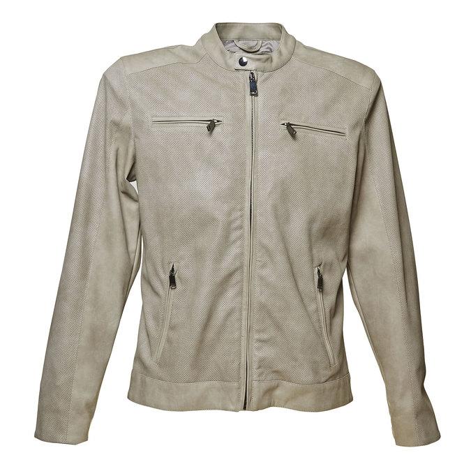 Pánská bunda bata, šedá, 971-2110 - 13