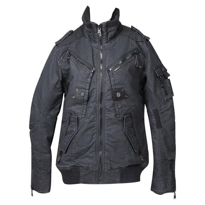 Pánská zimní bunda khujo, černá, 979-6030 - 13