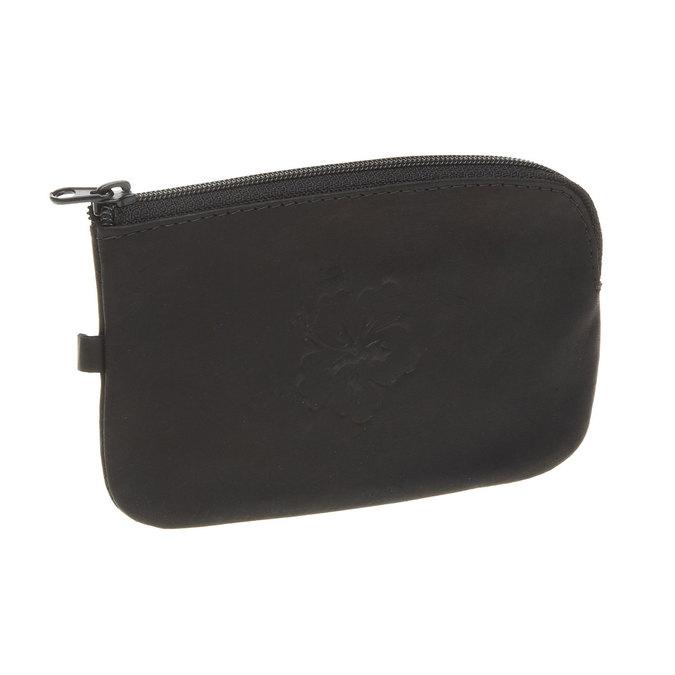 Kožená peněženka bata, černá, 944-6161 - 13