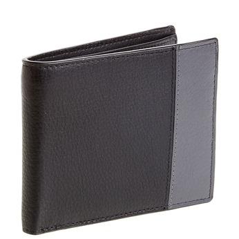Pánská kožená peněženka s kontrastním pruhem bata, černá, 944-6151 - 13