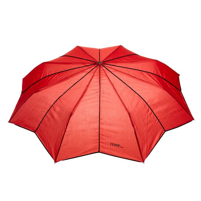 Červený skládací deštník ferre, červená, 929-5052 - 26