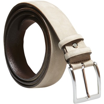 Pánský kožený opasek bata, béžová, 954-8120 - 13