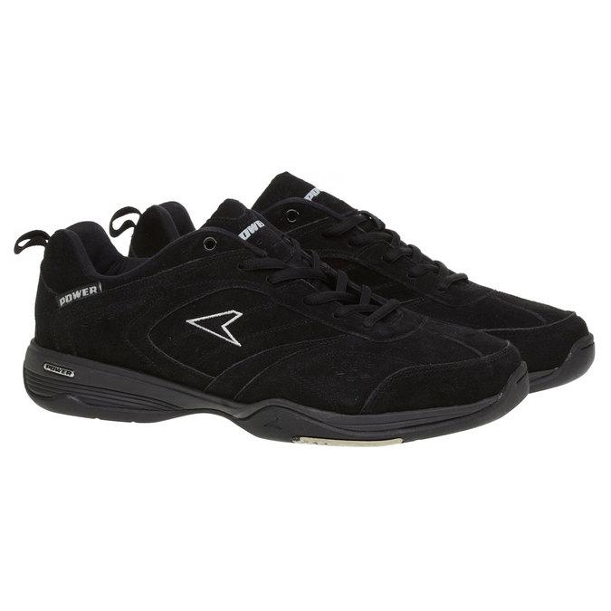 Kožené sportovní tenisky power, černá, 503-6300 - 26