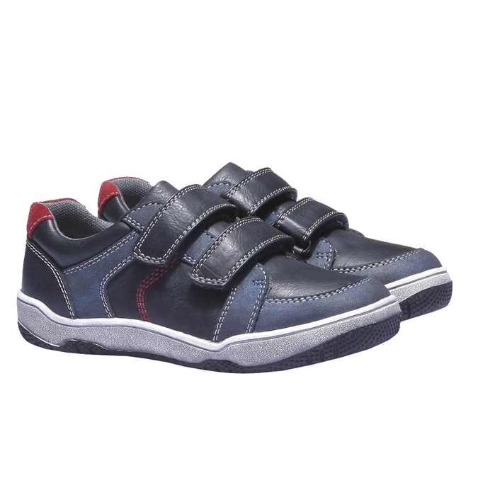 Tenisky na suchý zip mini-b, modrá, 311-9119 - 26