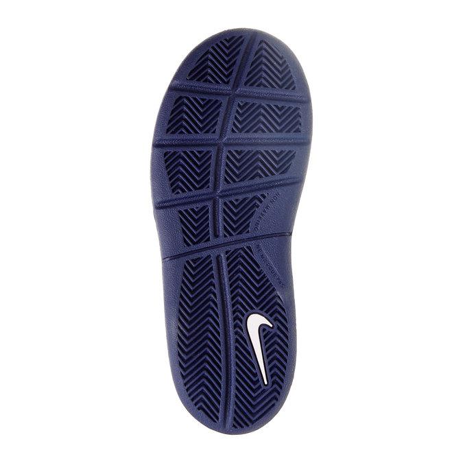 Dětské tenisky na suchý zip nike, modrá, bílá, 304-9548 - 26