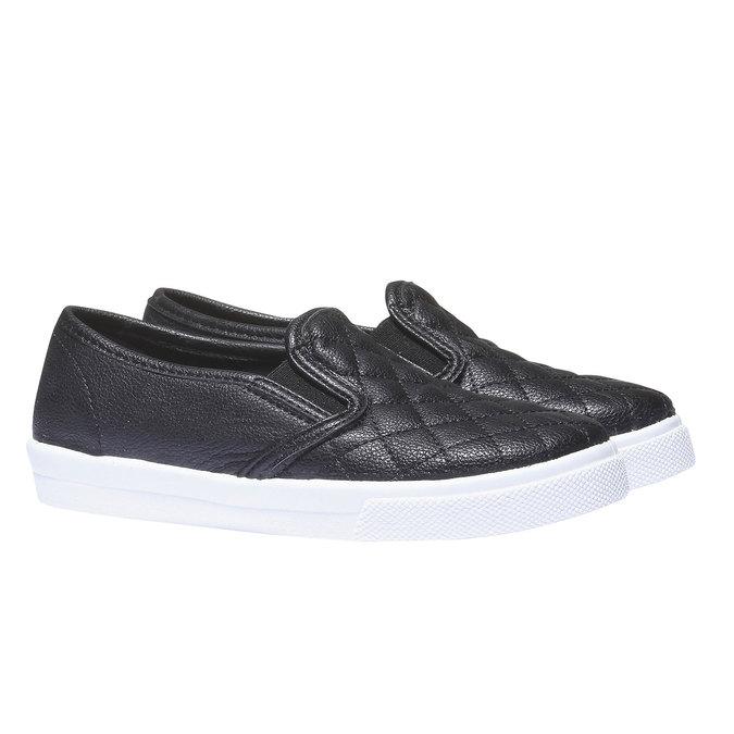 Kids shoes north-star-junior, černá, 321-6130 - 26