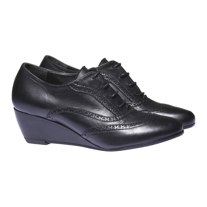 Women ankle boots bata, černá, 624-6142 - 26