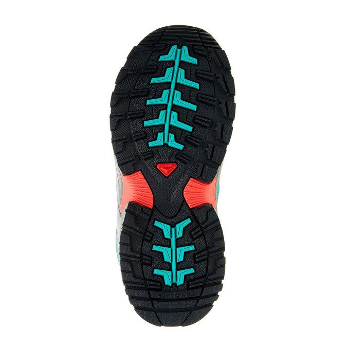 Dětská sportovní obuv salomon, tyrkysová, 309-9001 - 26