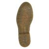Kožené polobotky s květinovým vzorem bata, hnědá, 526-5611 - 26