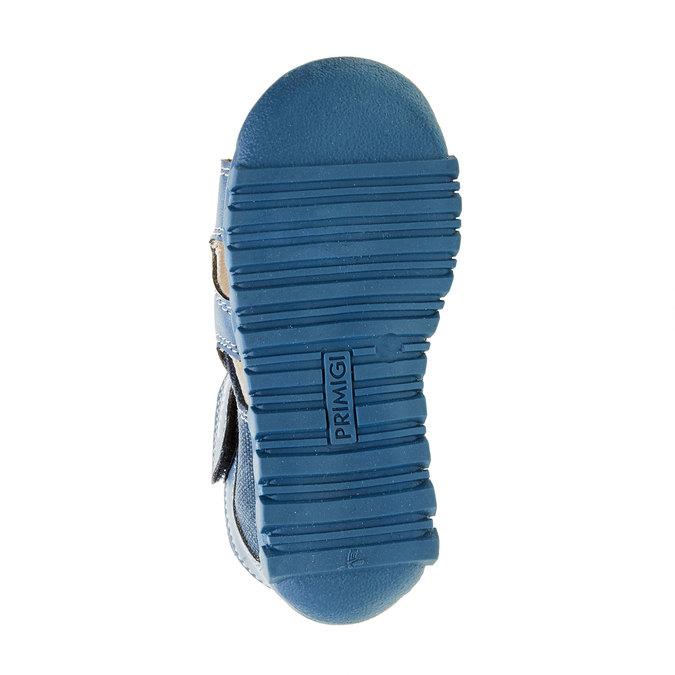 Dětské sandály na suché zipy primigi, modrá, 161-9114 - 26