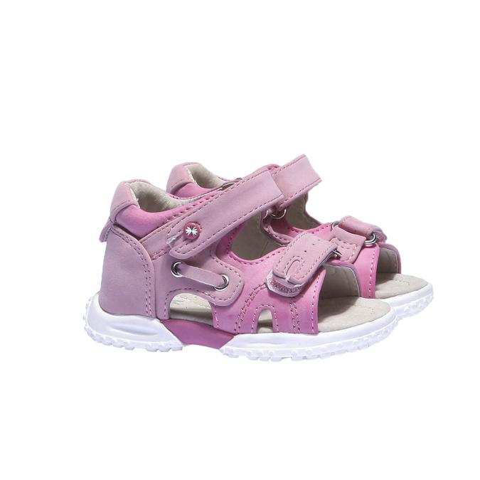 Dívčí sandály mini-b, červená, 161-5116 - 26