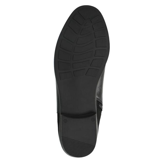 Dámské kozačky nad kolena bata, černá, 591-6604 - 26