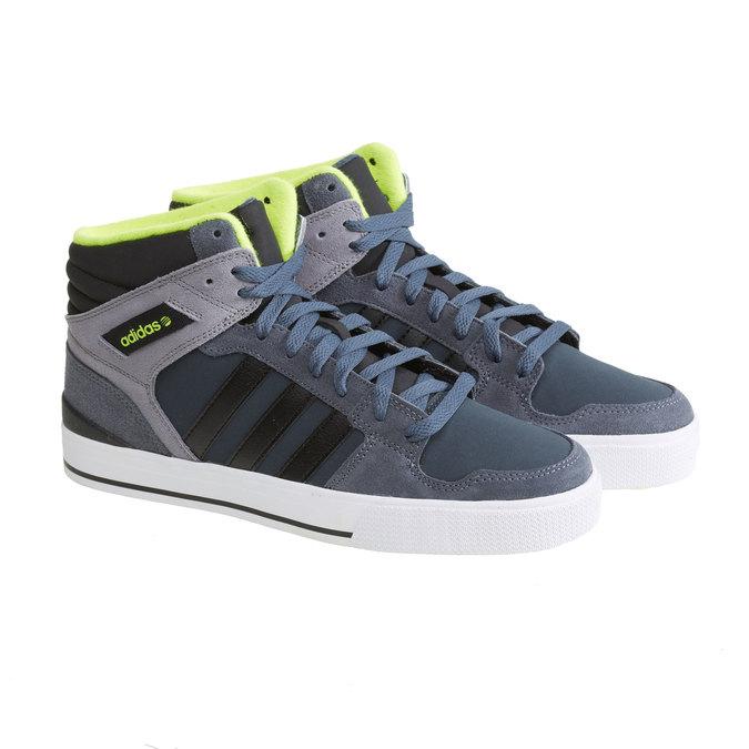 Pánská sportovní obuv adidas, šedá, 801-2113 - 26