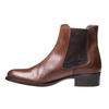 Kožená Chelsea obuv bata, hnědá, 594-4448 - 15