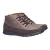 Ležérní kožené tenisky bata, hnědá, 896-4195 - 26