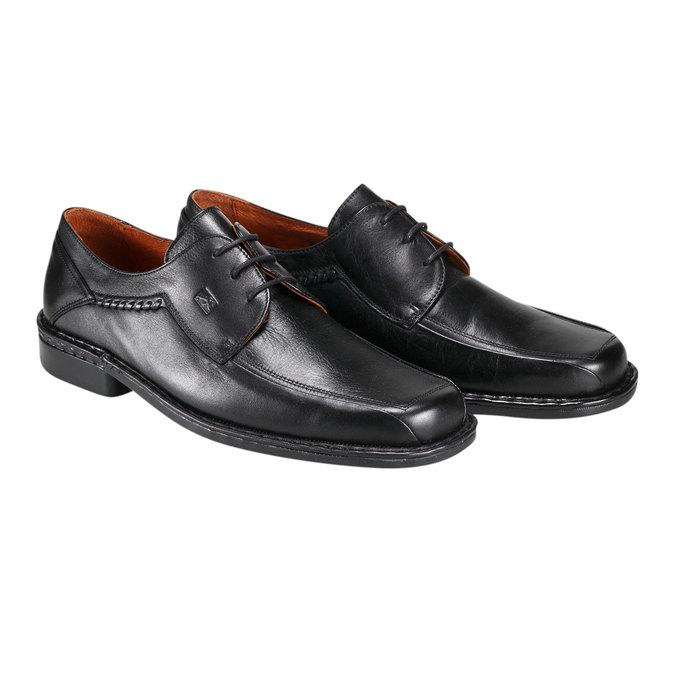 Kožená obuv fluchos, černá, 824-6785 - 26