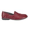 Dámská kožená obuv bata, červená, 556-5100 - 16
