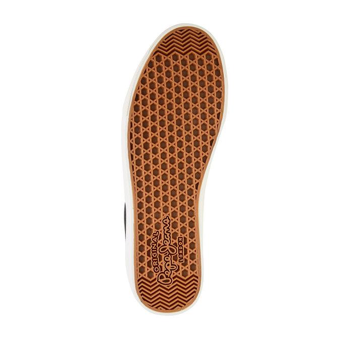 Pánské černé ležérní tenisky pepe-jeans, černá, 849-6007 - 26