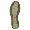 Kožená obuv v Outdoor stylu salomon, zelená, 863-8001 - 26