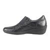 Dámská kožená obuv bata, černá, 556-6101 - 16