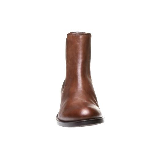 Kožená Chelsea obuv bata, hnědá, 594-4448 - 16