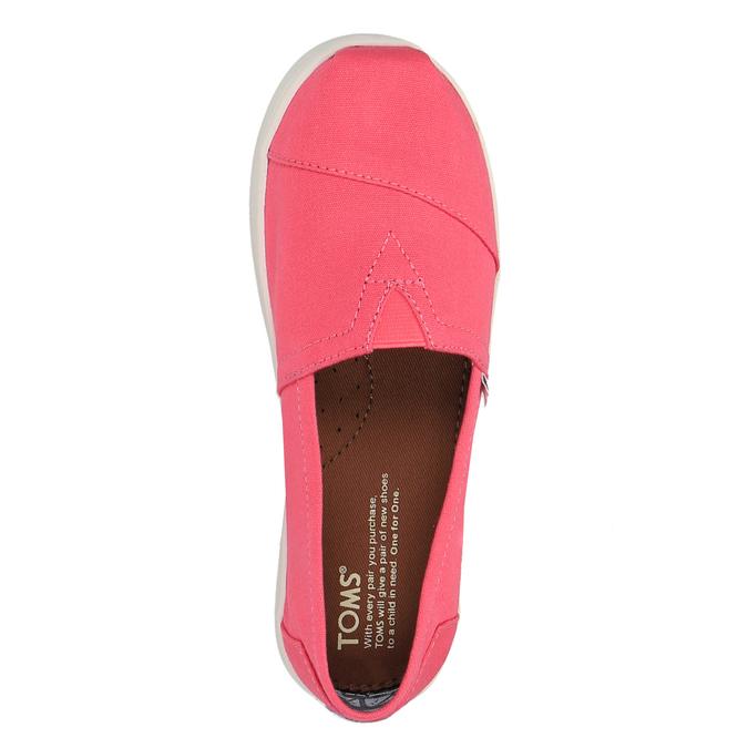 Dívčí Slip on toms, růžová, 329-5007 - 19