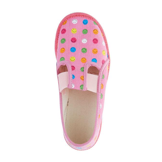 Dětská domácí obuv bata, růžová, 279-5011 - 19