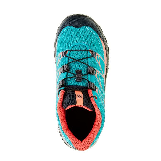 Dětská sportovní obuv salomon, tyrkysová, 309-9001 - 19