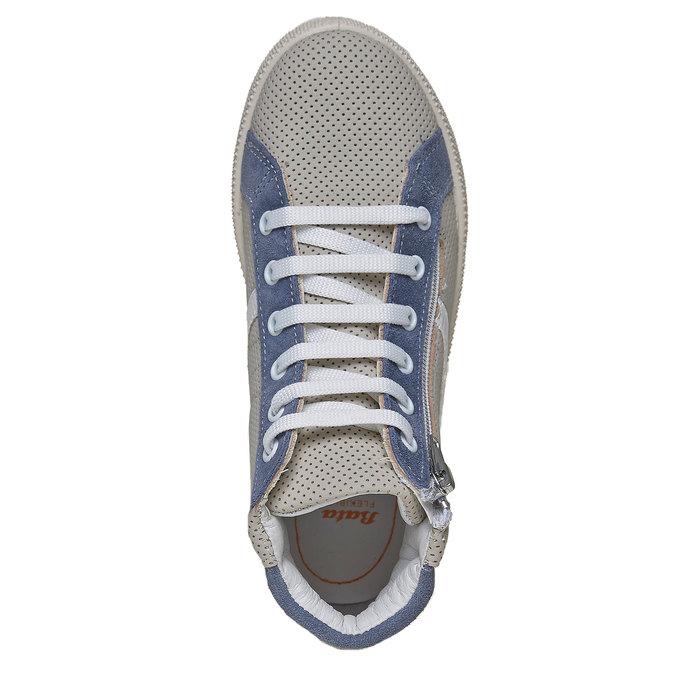 Sportovní kotníčkové tenisky Flexible flexible, šedá, 311-2195 - 19
