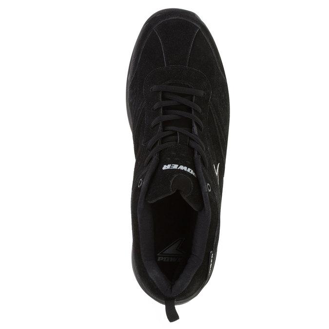Kožené sportovní tenisky power, černá, 503-6300 - 19