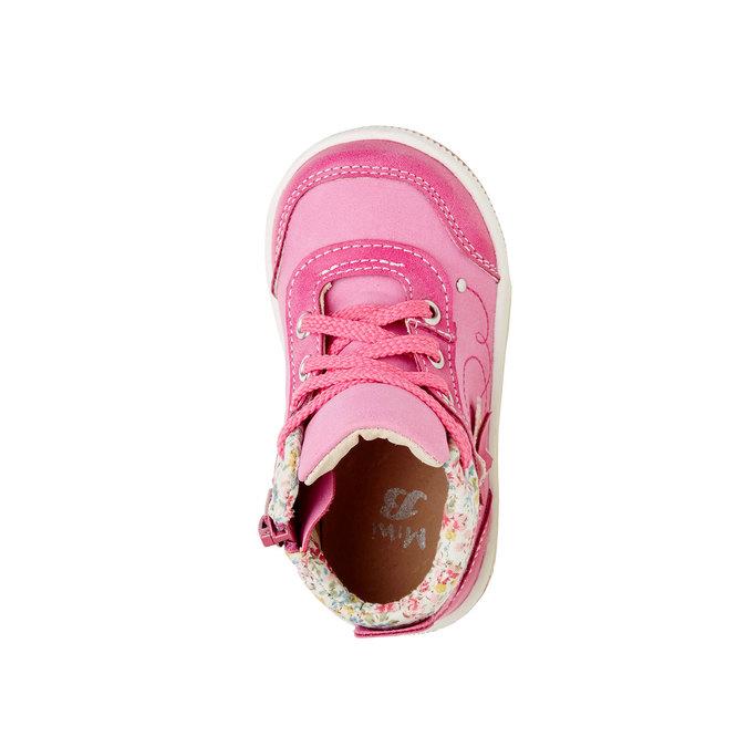 Dětské kotníčkové boty mini-b, růžová, 121-5100 - 19