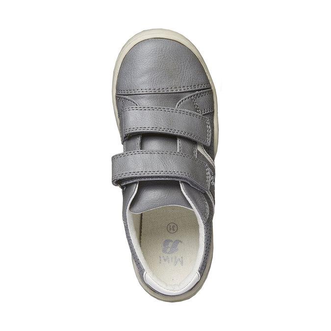 Dětské tenisky na suché zipy mini-b, šedá, 311-2214 - 19
