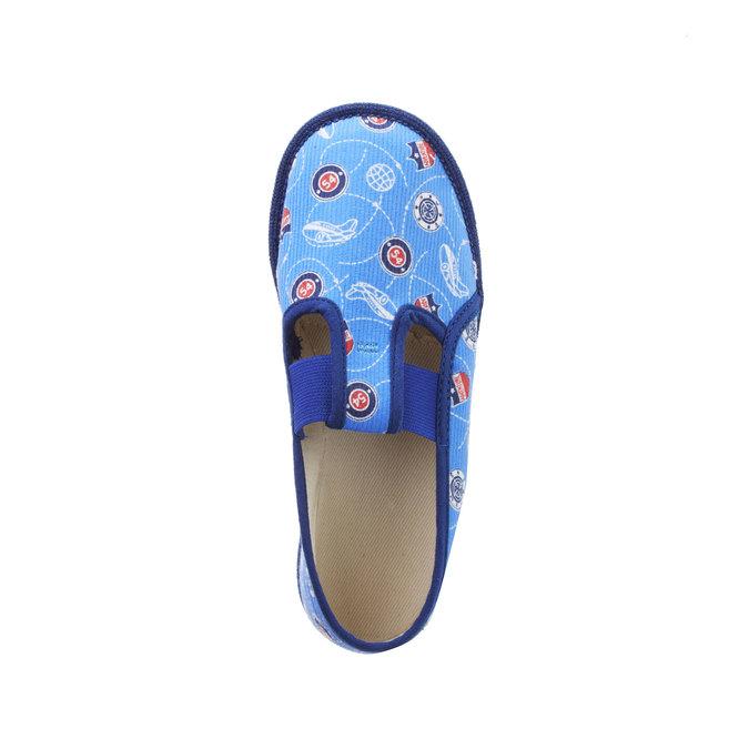 Dětské pantofle bata, modrá, 279-9011 - 19