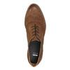Dámské kožené polobotky bata, hnědá, 526-4600 - 19