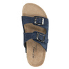 Dětské modré pantofle de-fonseca, modrá, 373-9600 - 19