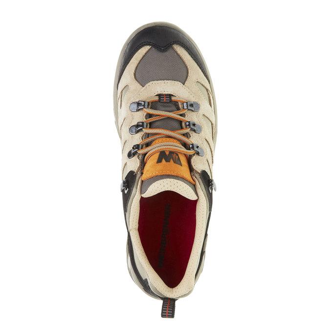 Kožené Outdoor boty, žlutá, 543-8208 - 19