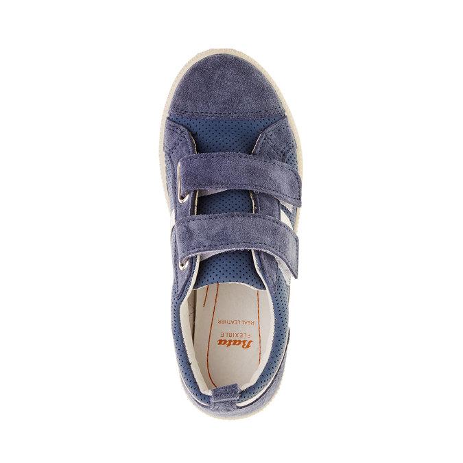 Dětské tenisky s perforací flexible, modrá, 311-9217 - 19
