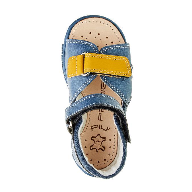 Dětské sandály na suché zipy primigi, modrá, 161-9114 - 19