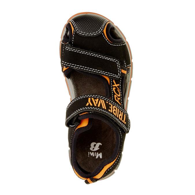 Dětské sandály mini-b, černá, 361-6120 - 19