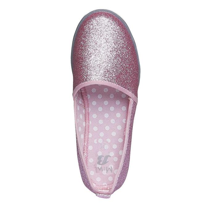 Dívčí Slip On se třpytkami mini-b, růžová, 329-5163 - 19