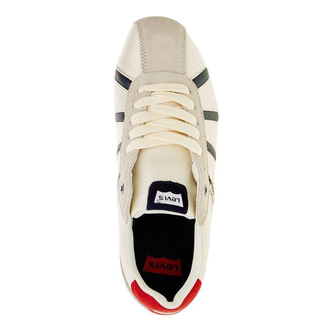 Ležérní pánské tenisky levis, bílá, 841-1198 - 19